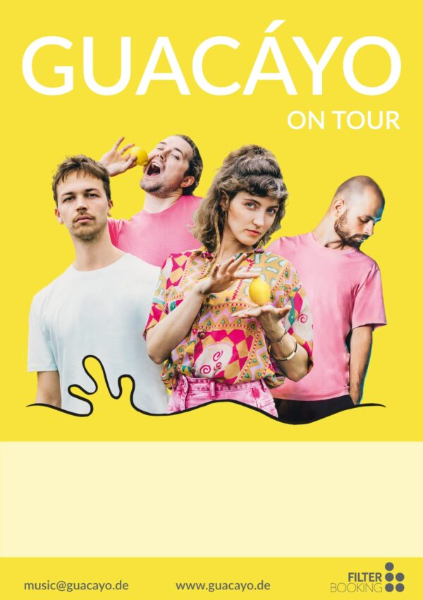 Guacáy_ Poster_Lemonade_TOUR_2021_A1_empty